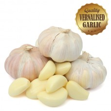 Vernalised Garlic - Australian White 25mm - 40mm Bulb Diameter - 1KG